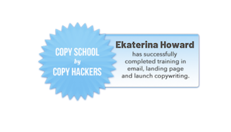 Copy School Graduate Badge: Ekaterina Howard