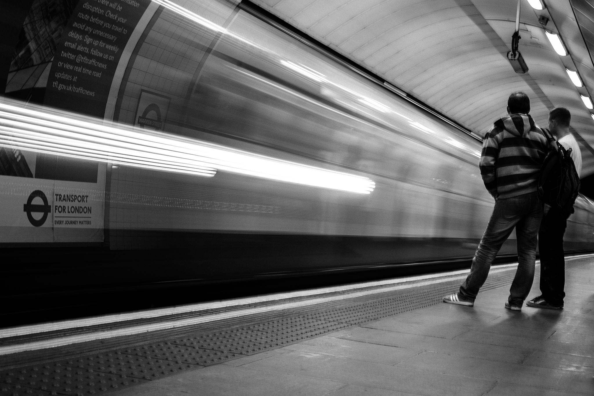 Slow london underground