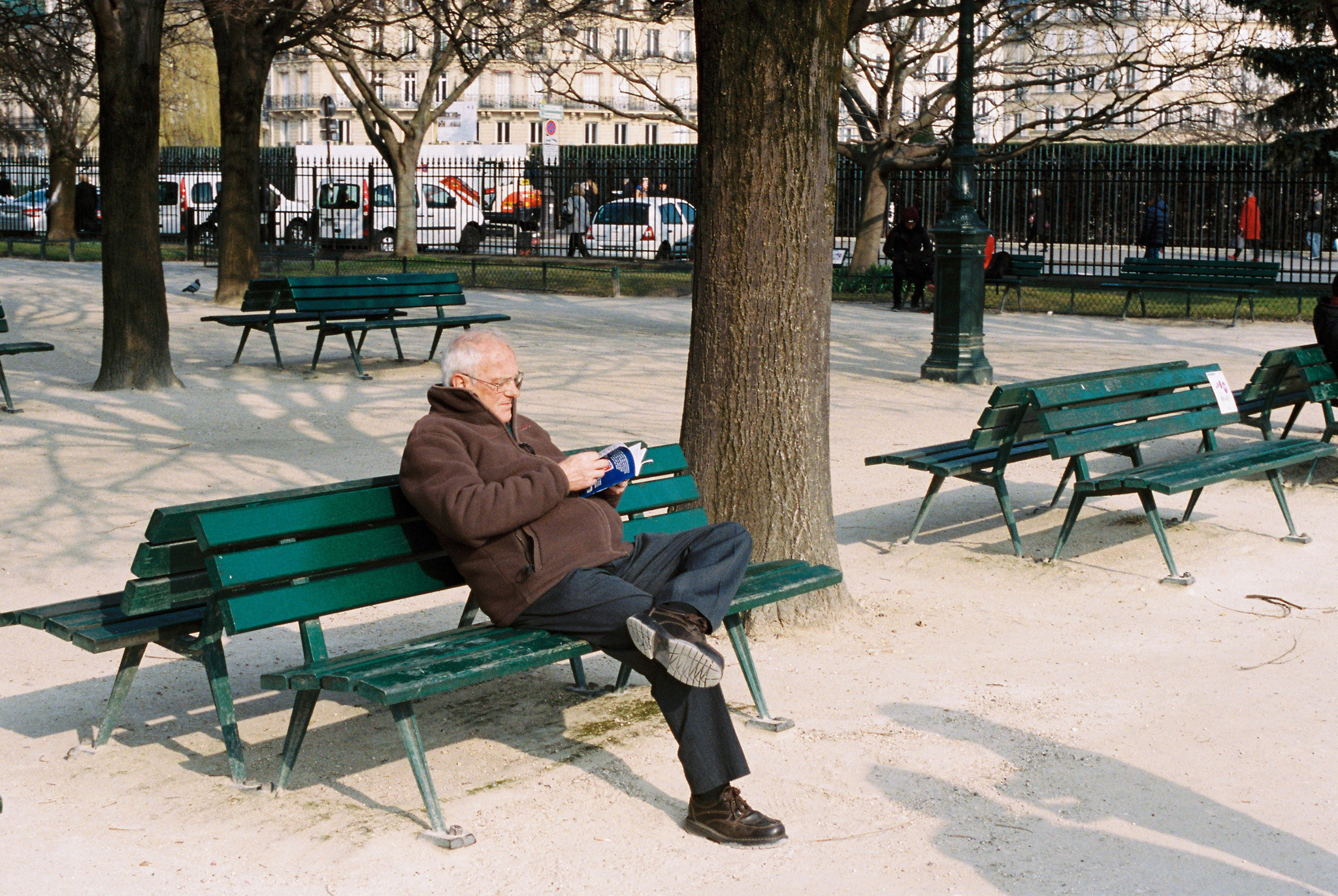 reading sitting paris