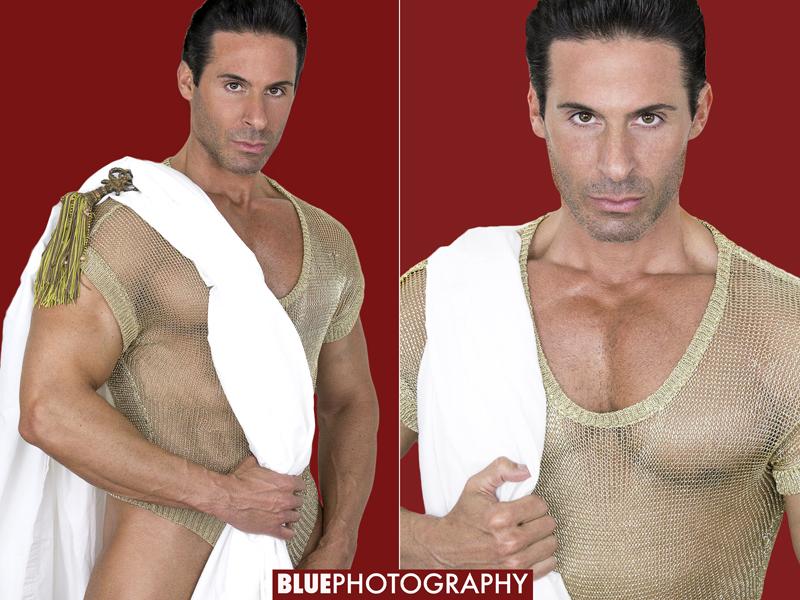 Model: Anthony Catanzaro, Photographer: Larry Hamilton (Blue Photography)