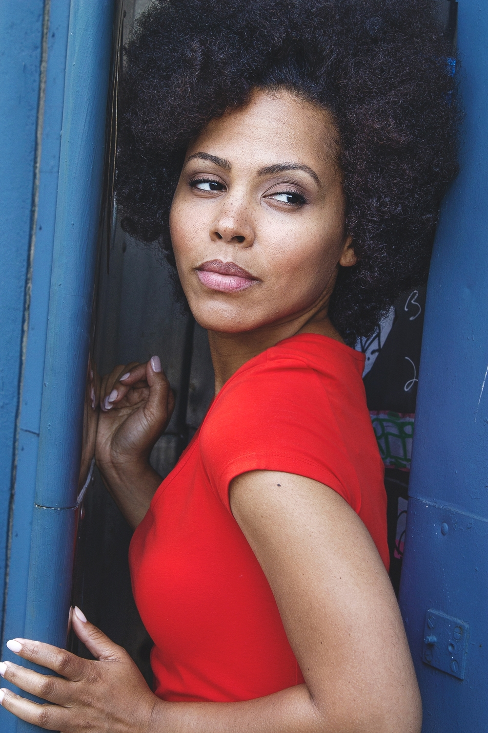 Amirah Vann by Larry Hamilton