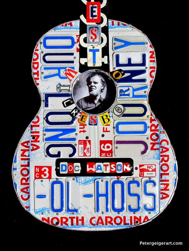 MerleFest Guitar Honors Doc Watson
