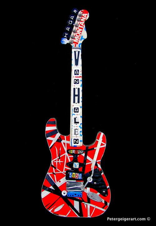 Van Halens Frankenstrat