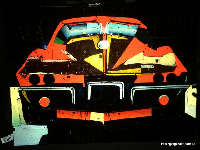 license-plate-art #63corvette