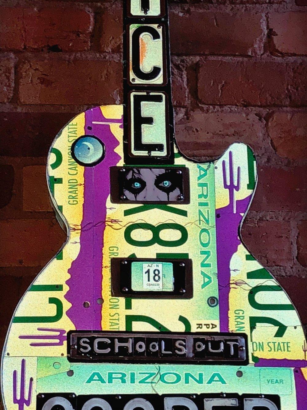 Alice Cooper License Plate Guitar Grand Rapids Flash.JPG