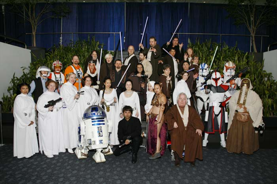 Another Star-Wars themed cosplay group. Think about the amount of time and resources these people commit to when joining such a group. What can we learn from them?