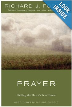 This is my favorite prayer book, and I find his writing and relationship with God so refreshing.  ~ Laura Demetrician
