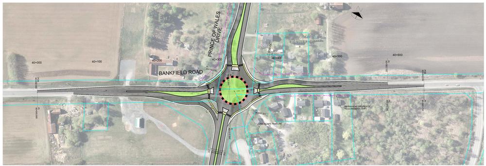 Greenbank / Bankfield / Prince of Wales Roundabout