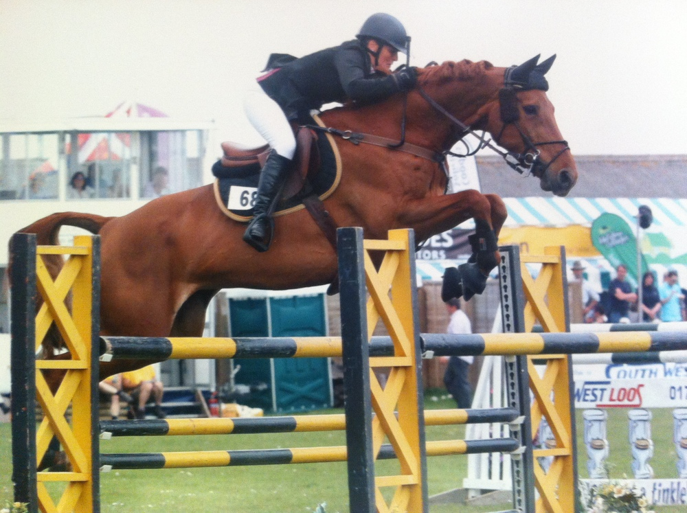 Calrina winning at Royal Cornwall