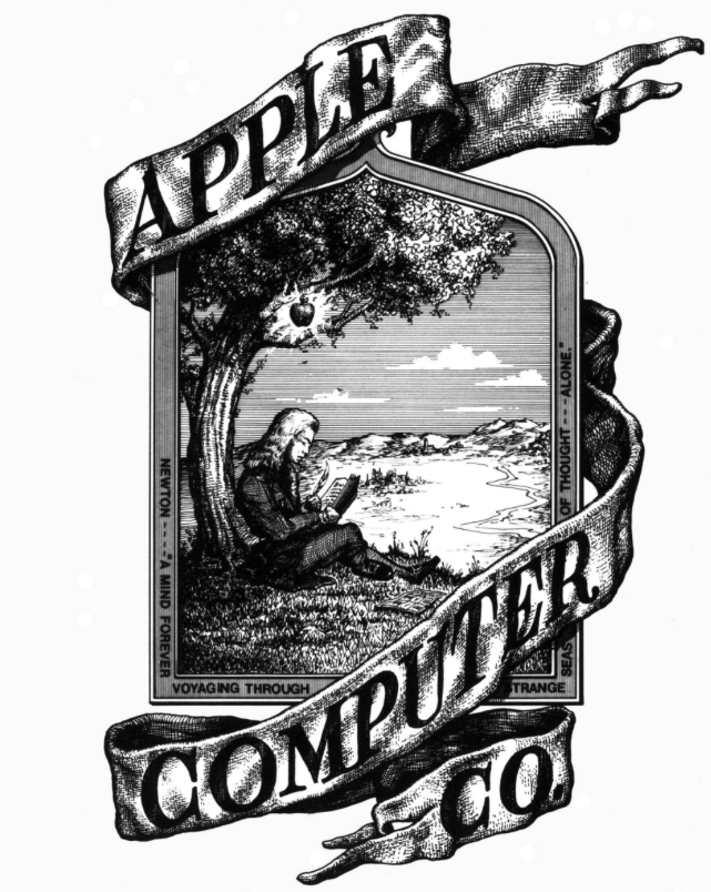 Image of original Apple Computer Co. logo
