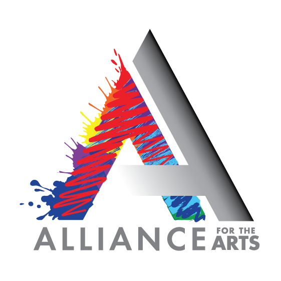 Rebranded Alliance for the Arts logo designed by Be Brilliant Marketing