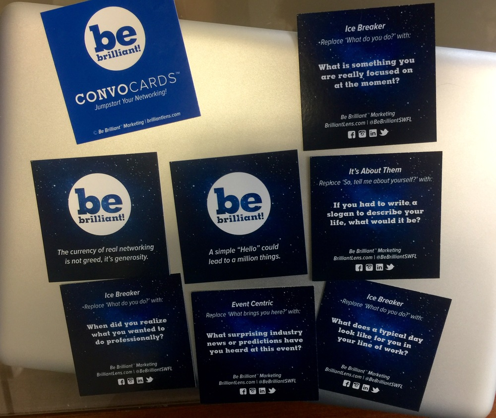 Image of Be Brilliant Marketing Convo Cards