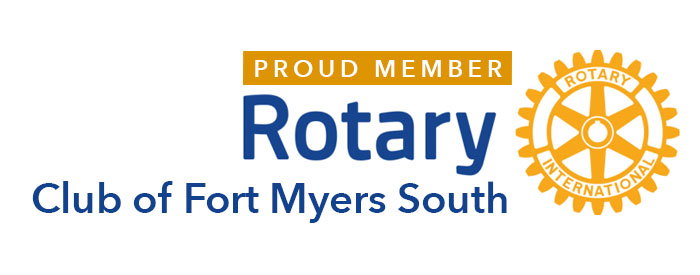 Be Brilliant! Marketing supports the Rotary Club of Fort Myers South through member Bryon McCartney, since 2015.