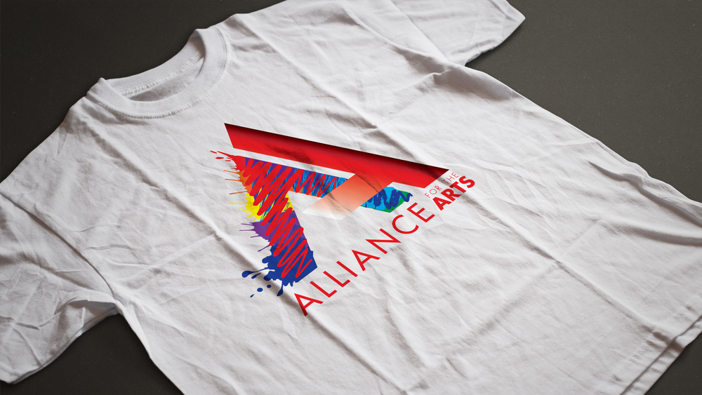 Alliance for the Arts t-shirt mockup