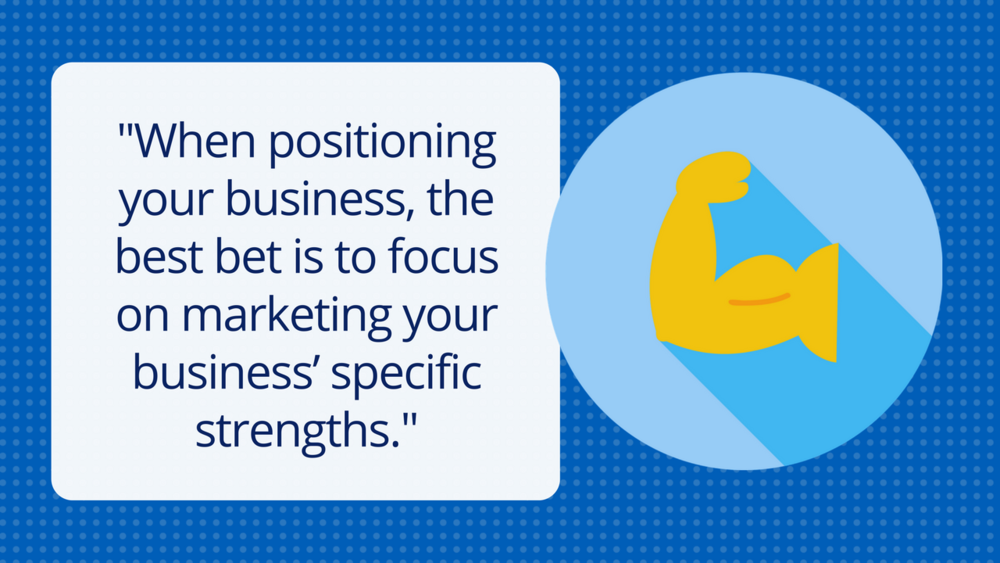 Graphic of Business Strengths Quote