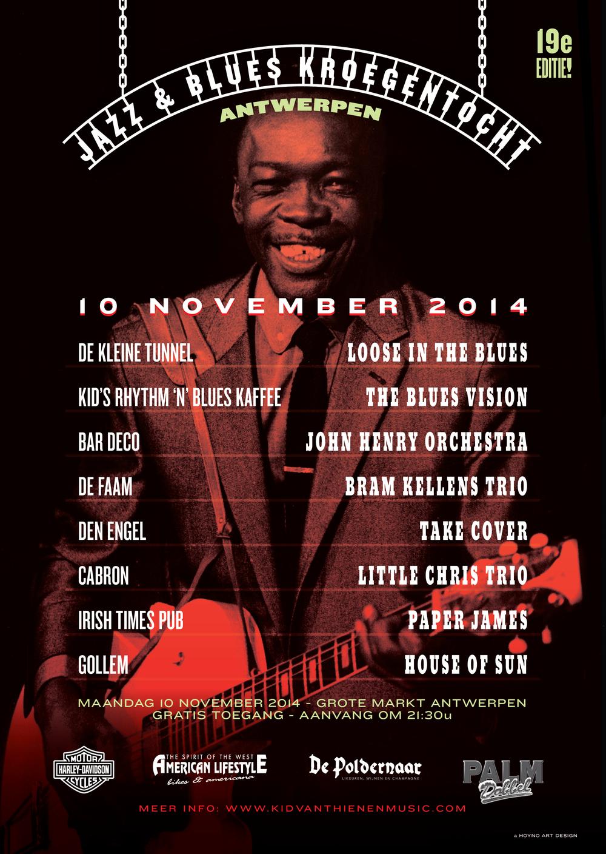 Jazz & Blues Kroegentocht 2014