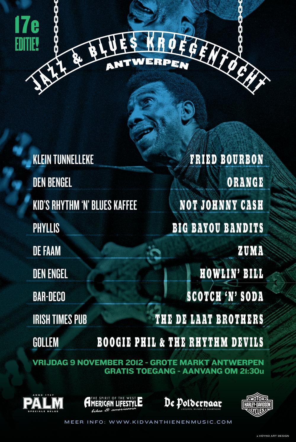 Jazz & Blues Kroegentocht 2012