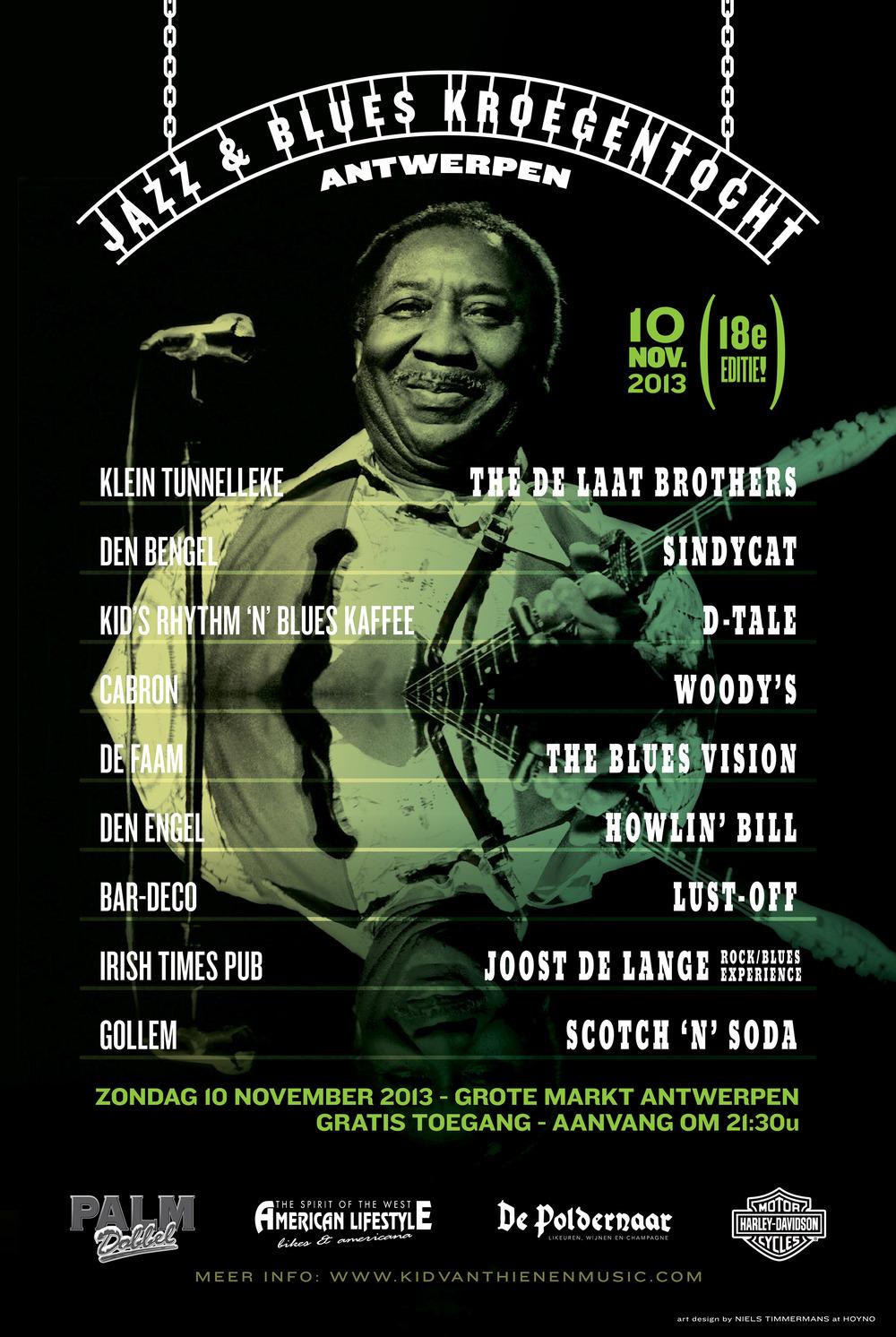 Jazz & Blues Kroegentocht 2013