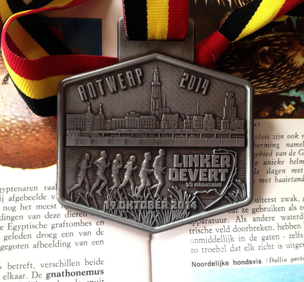 Linker Oevert 2014 Medal
