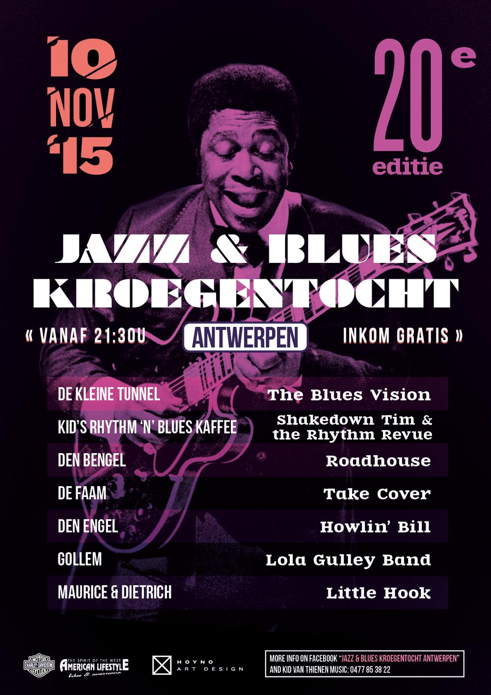 Jazz & Blues Kroegentocht 2015