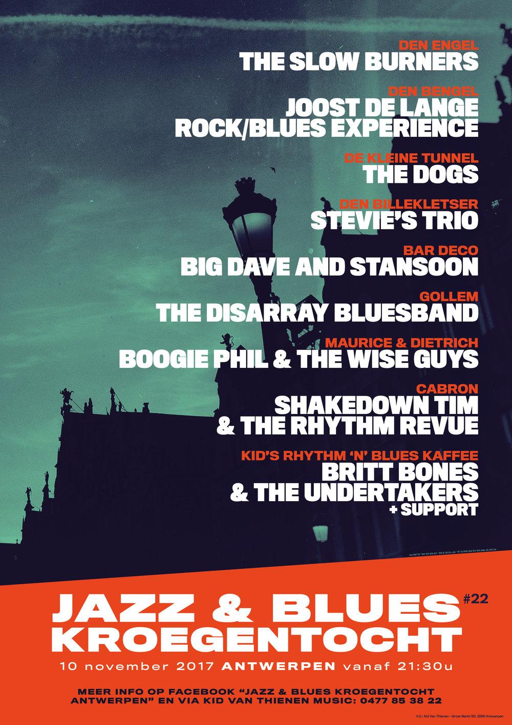 Jazz & Blues Kroegentocht 2017