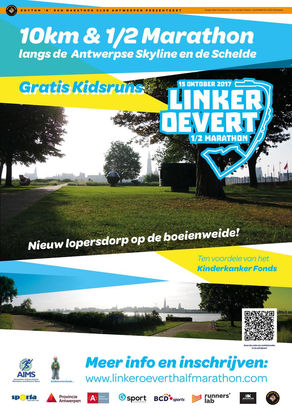 Linker Oevert 1/2 Marathon 2017