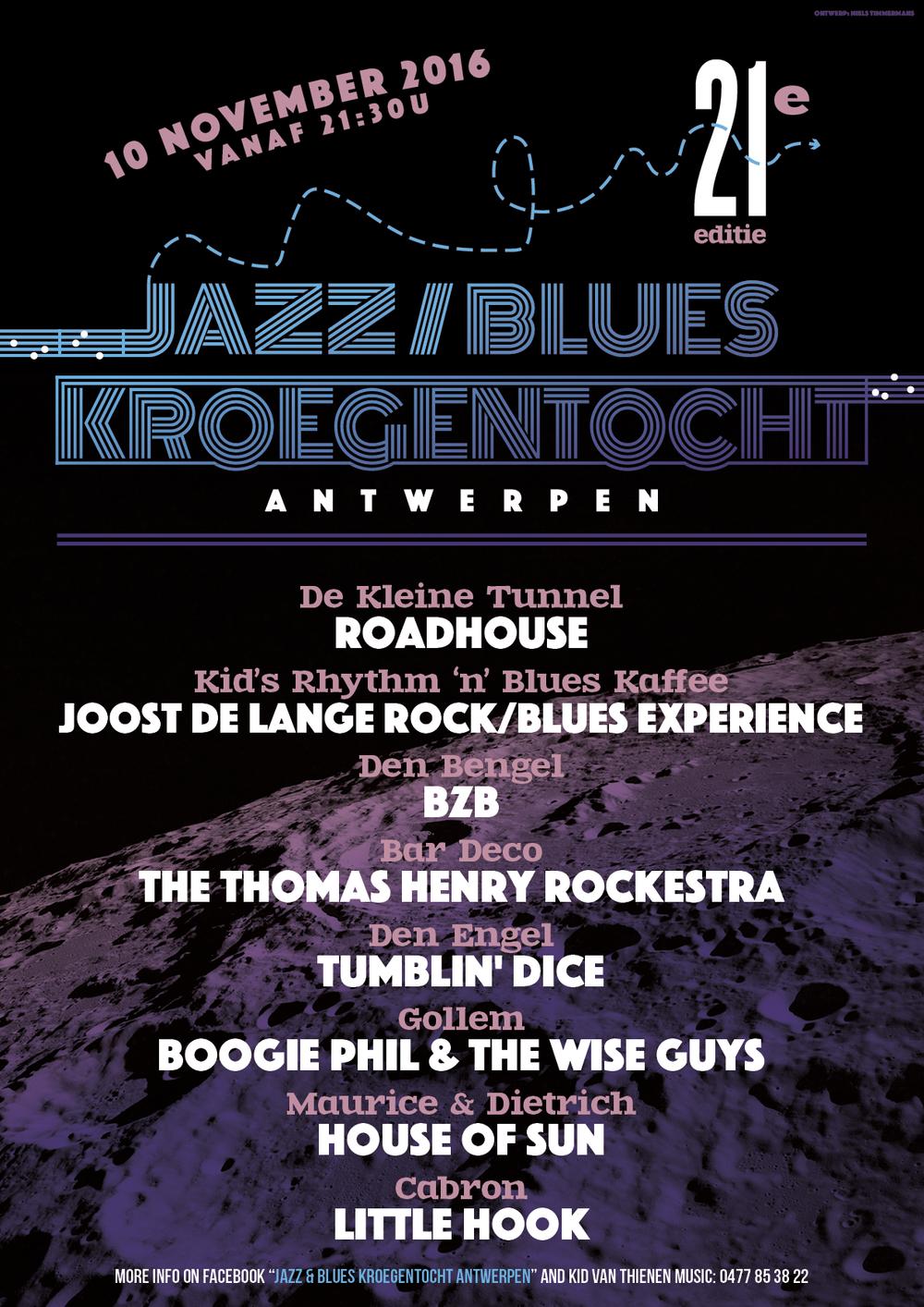 Jazz & Blues Kroegentocht 2016