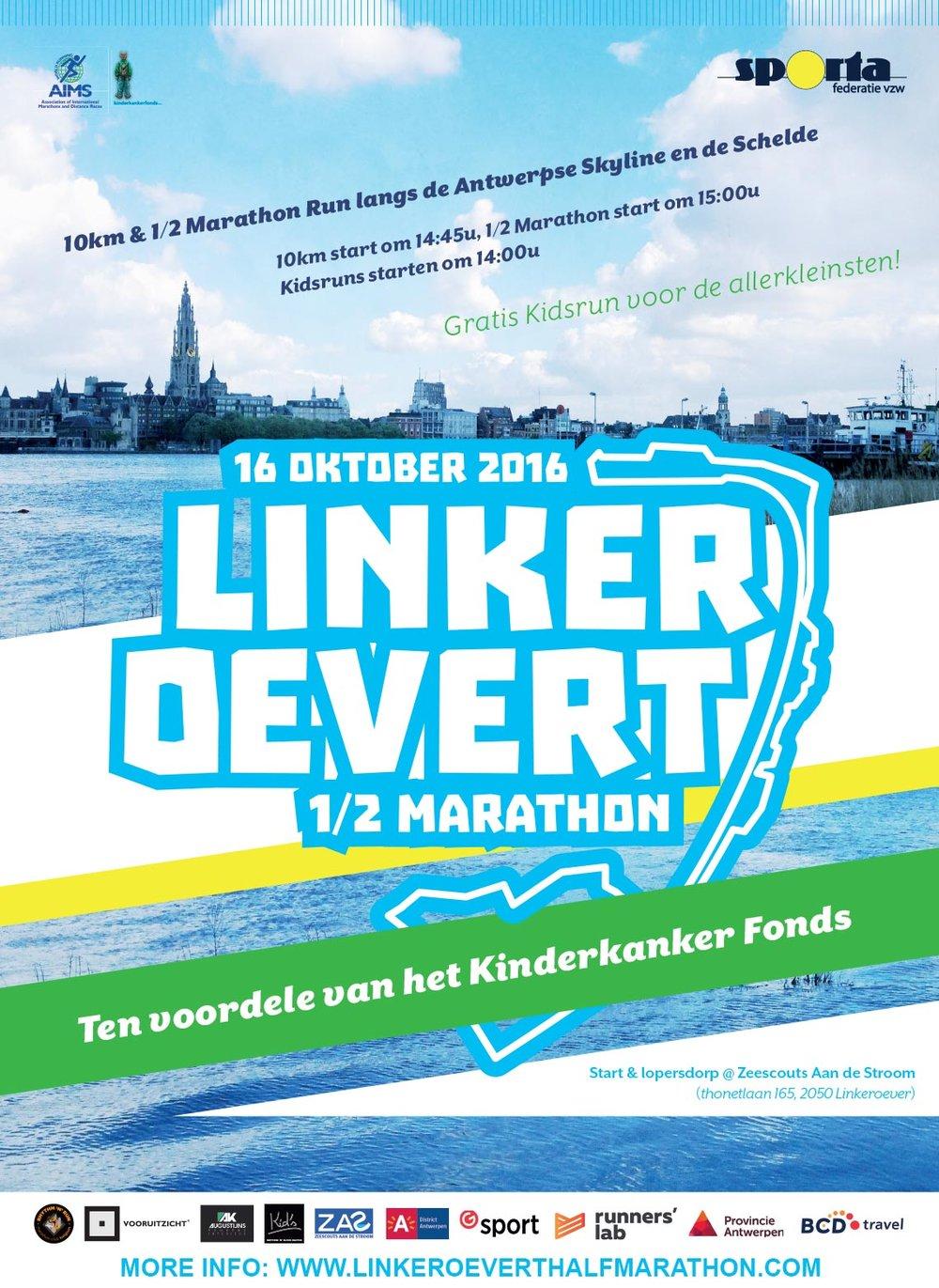 Linker Oevert 1/2 Marathon 2016