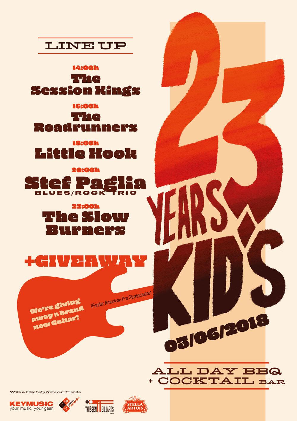 23 Years Kid's