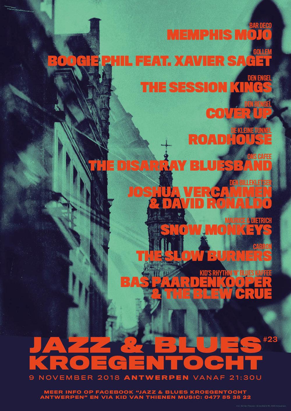 Jazz & Blues Kroegentocht 2018