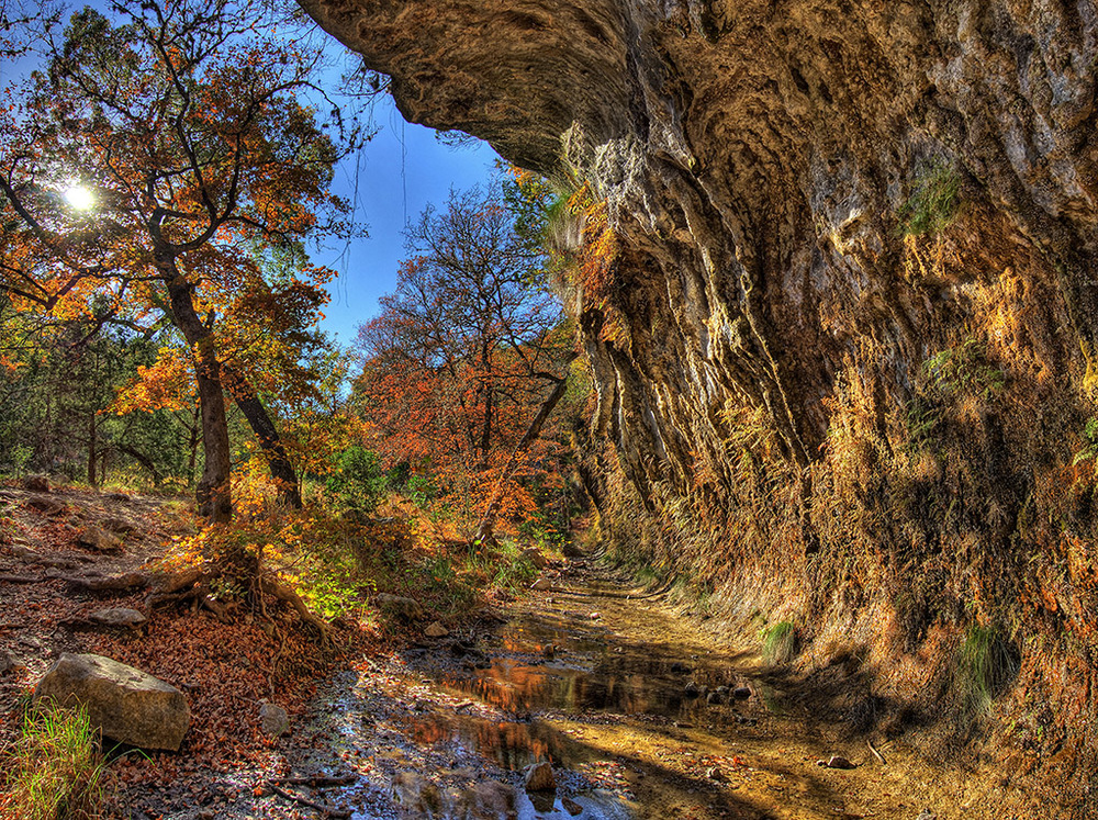 Lost Maples Fall Grotto