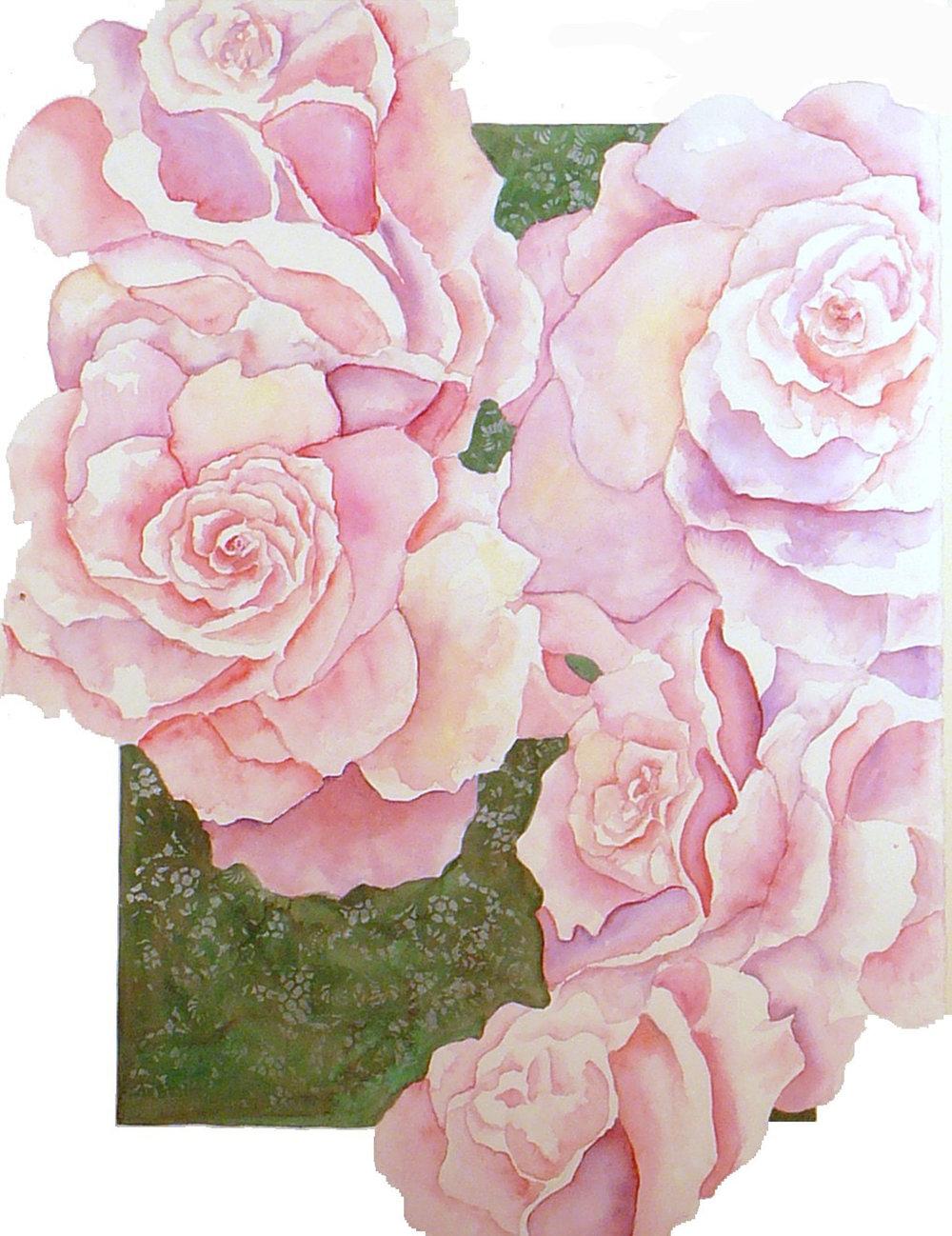 Porcelin Roses