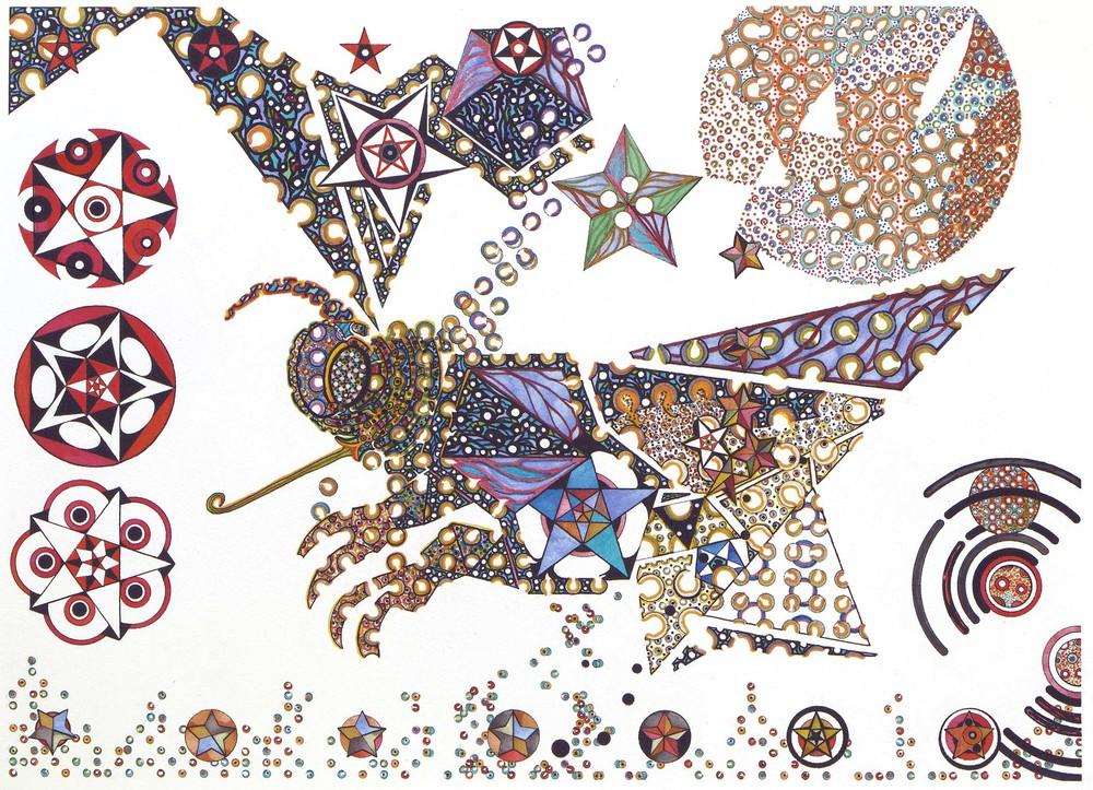 cosmic pollinator 30x22