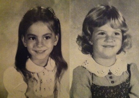 Look at those kindergarten cuties.  Leah is on the right and that's me on the left.  This may be my 1st and last blog post after showing this picture.....but who can resist?!  ;)