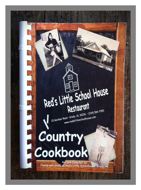 When I went off to college, mom wrote a cookbook for me to take to Auburn.  AWWWW!  A customer told her she should have it printed for folks to buy at the restaurant.  I couldn't tell you how many she's sold!