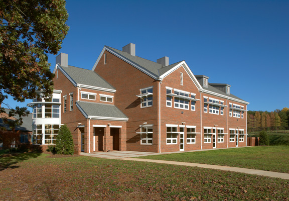Canterbury School Art Building, West Exterior
