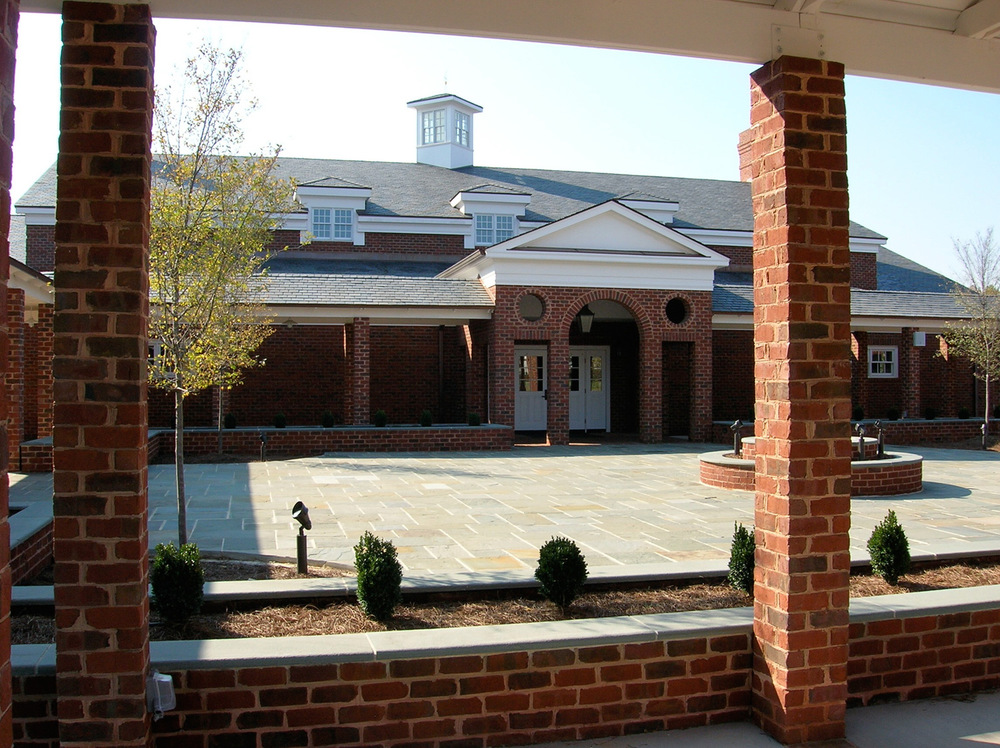 Canterbury School, Berry Hall Courtyard