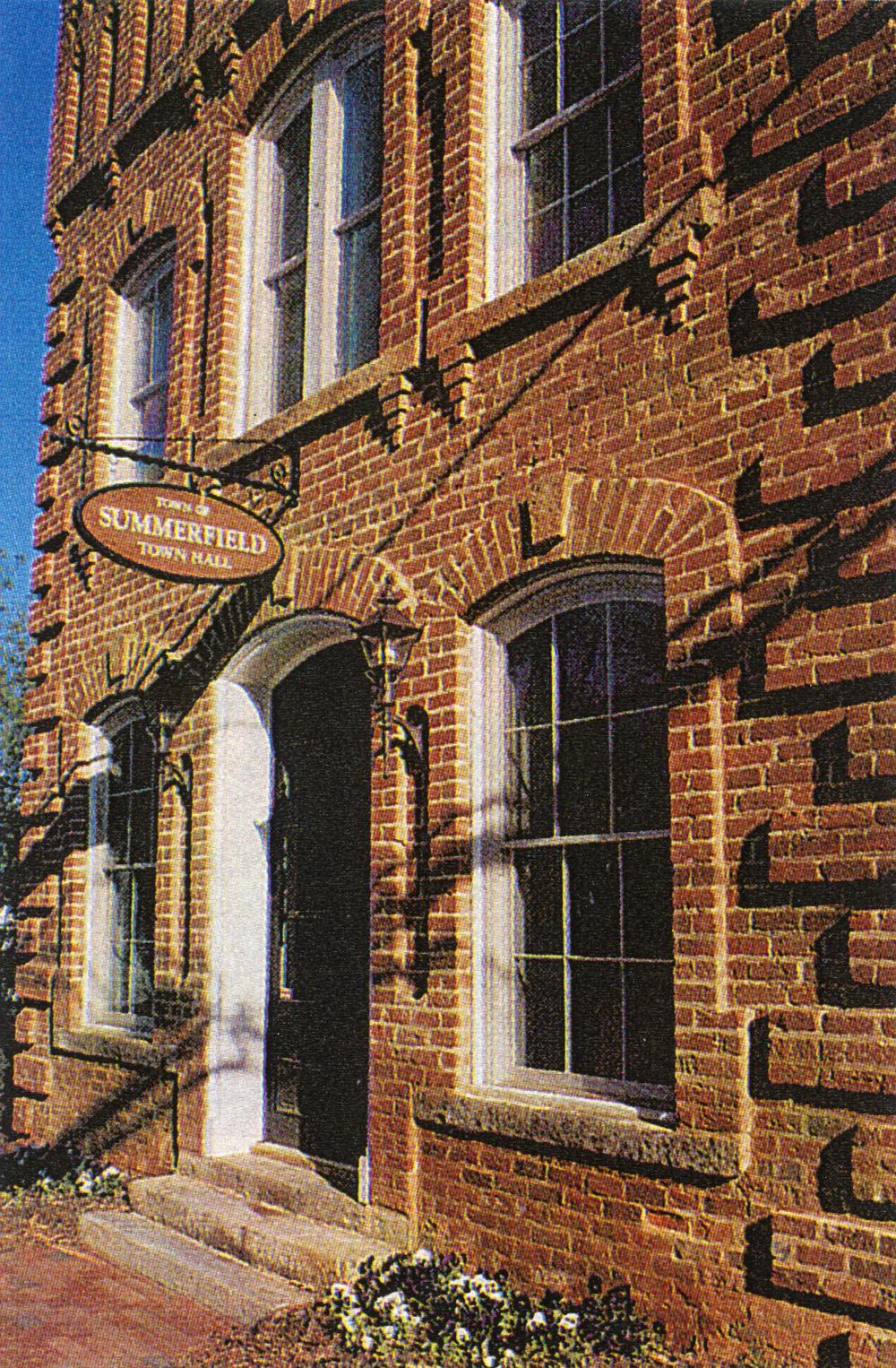 Summerfield Town Hall Historicsummerfield town