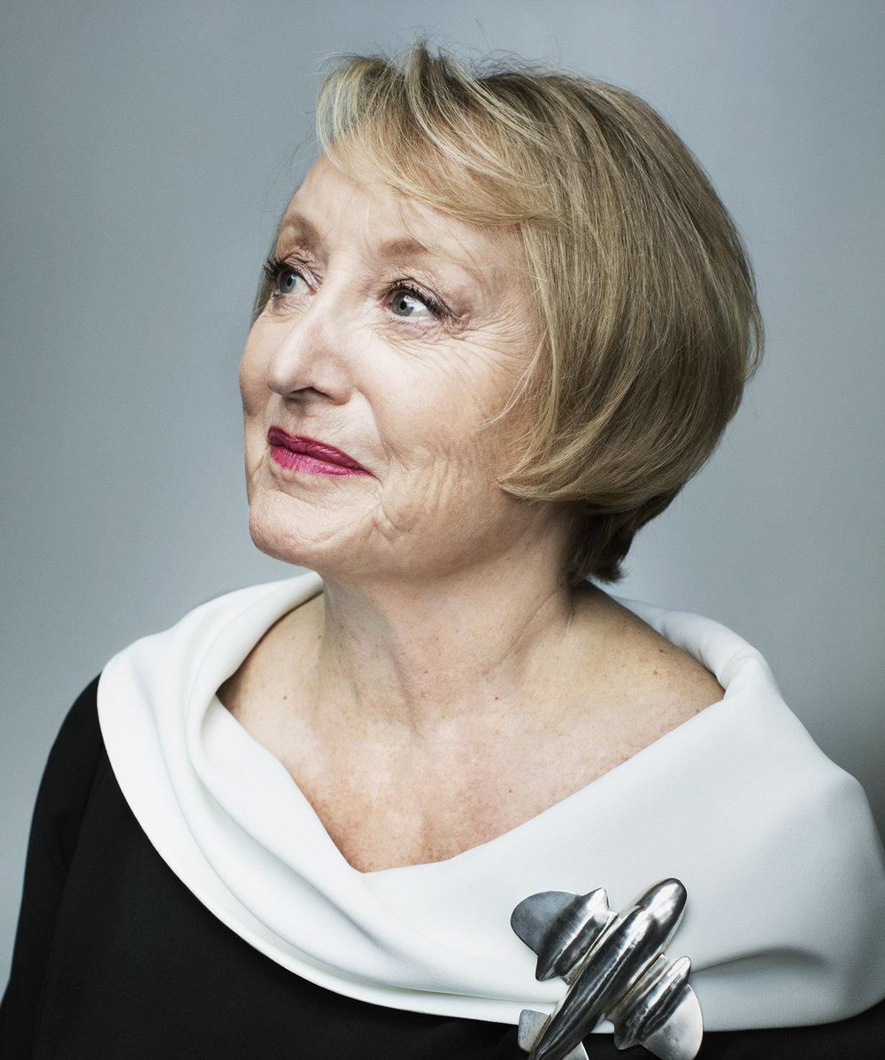 Yvonne Blake, para Harper's Bazaar.
