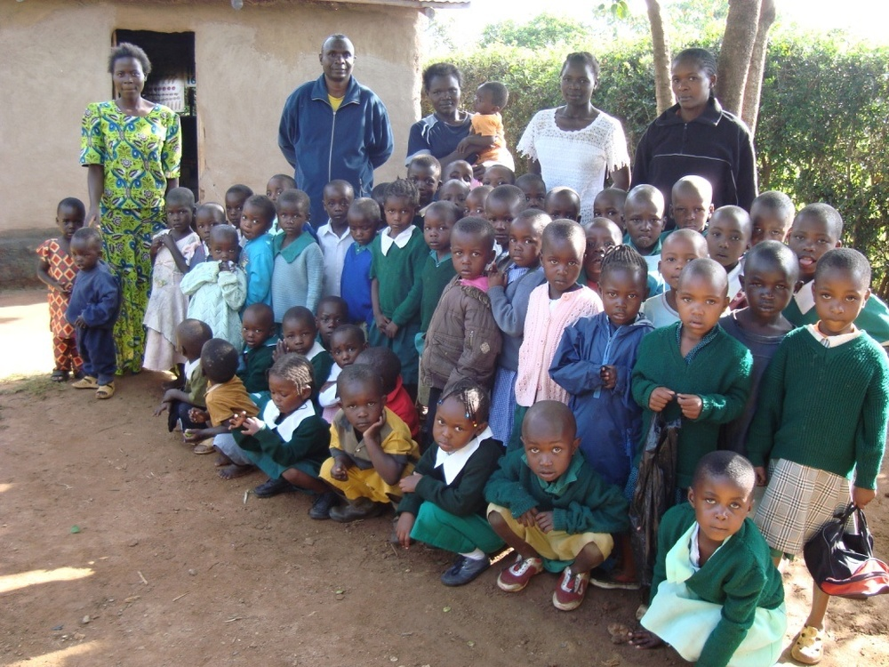 Primary School in Lumakanda, Kenya.