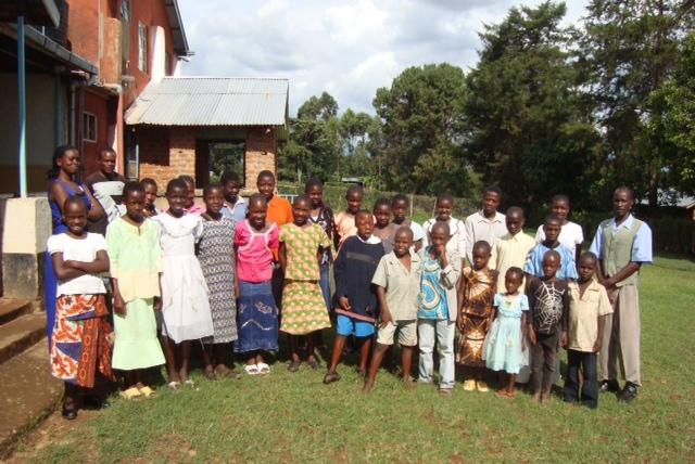 Orphanage in Kakamega, Kenya.