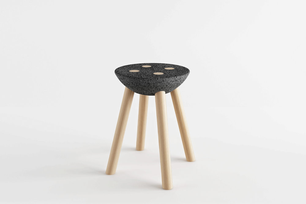 BASALTIC STOOL
