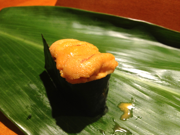 Sea Urchin from Hokkaido. Multiple Orgams. Heaven. I cried.