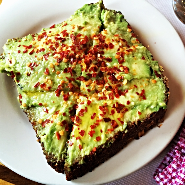 Image result for avocado toast red pepper flakes
