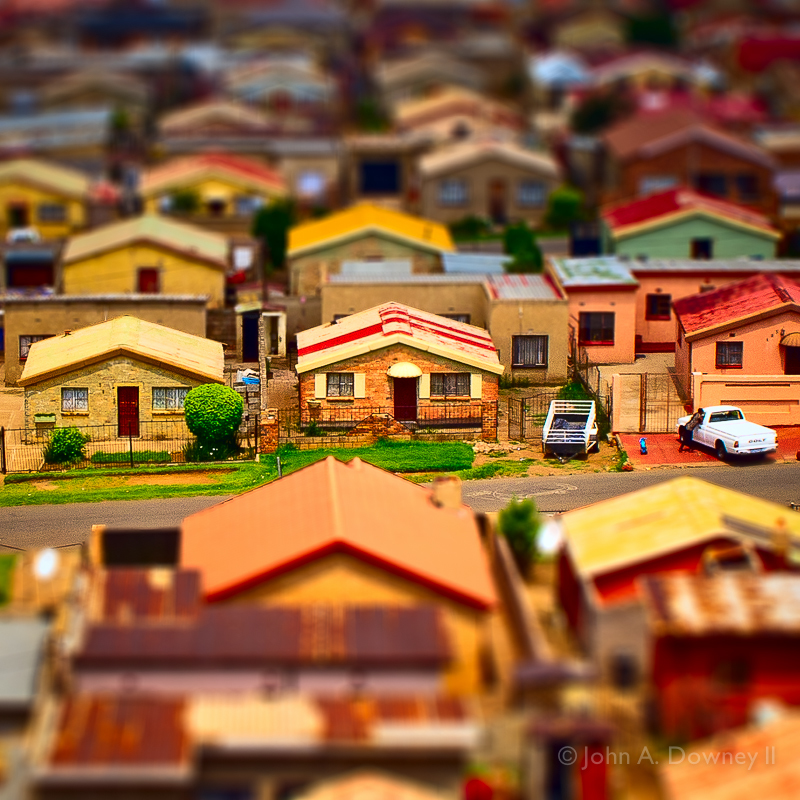 Matchbox Houses, Soweto.
