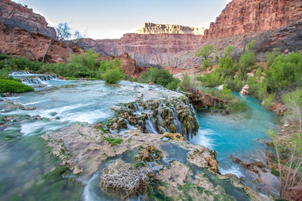 Navajo Falls.