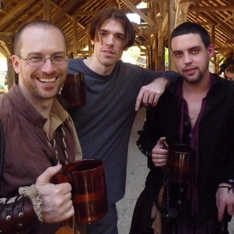 Chris, Hutch, & Glenn at Scarborough Faire