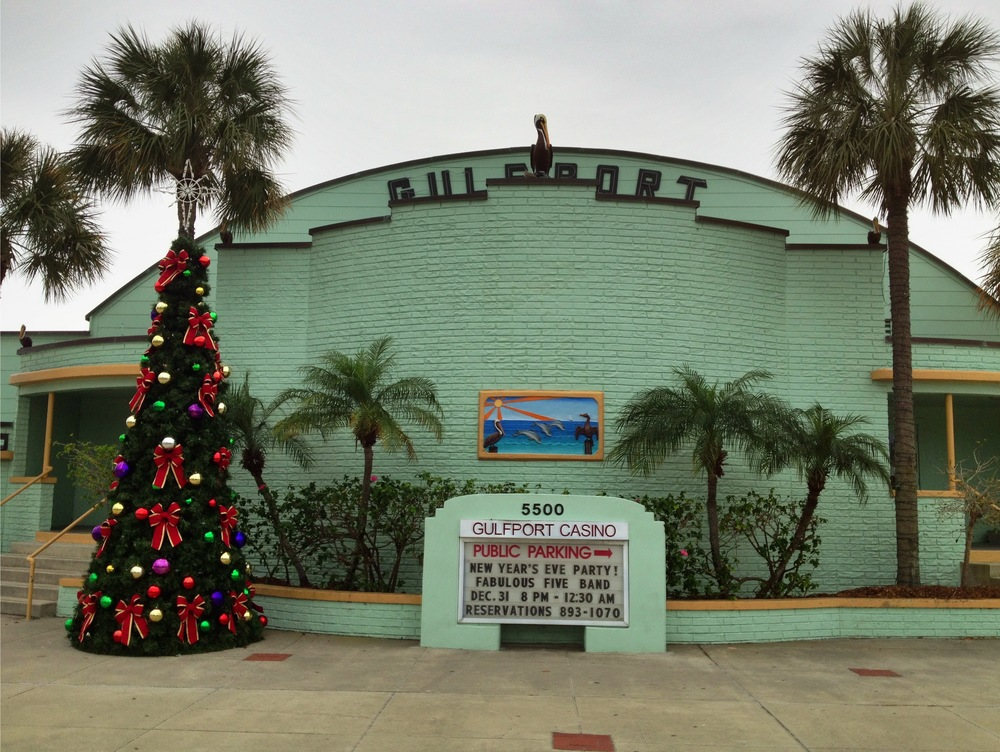 Gulfport Casino Decked Out for the Holidays