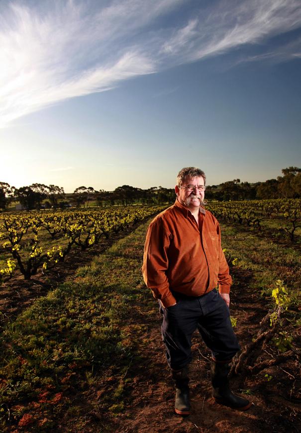 Wine maker Trevor Jones