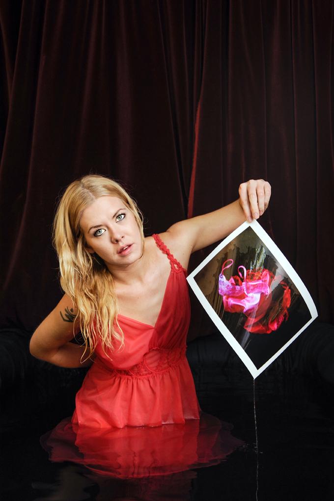 Artist Meg Cowell